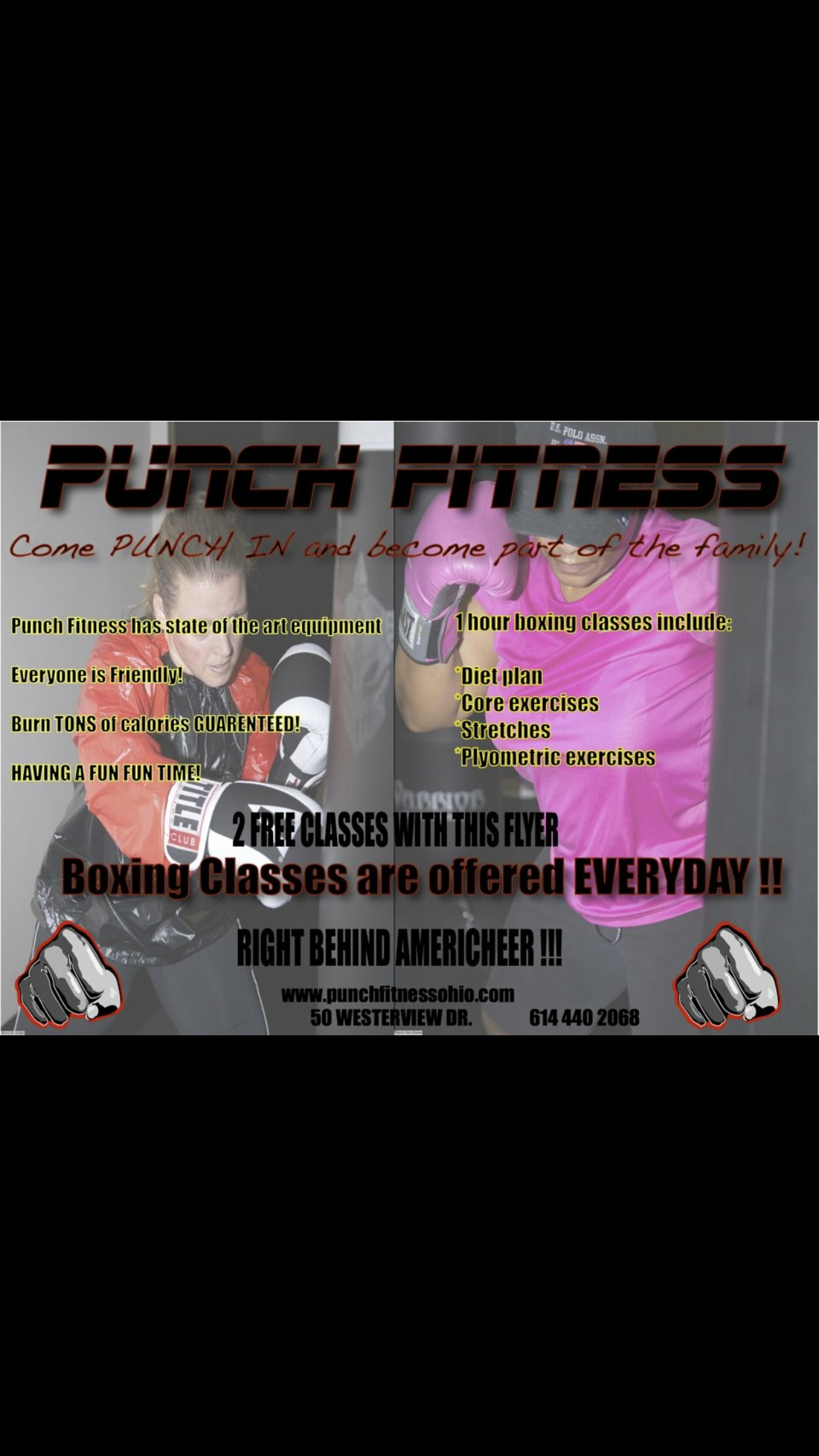Punch Fitness | Westerville, Ohio